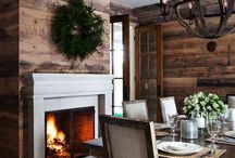 Fireplaces / by Amy Liggett