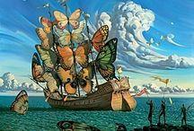 Dali bateau papillon
