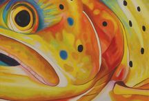 Fish Eye Giclee Prints / These fish paintings have their eye on us! Fish artwork by talented artists.