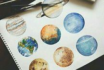 Planets art