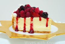 Cheesecakes and all things cream cheese  / by Susan Richey