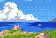 Vaporwave & Pixel Art