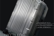 The Kozmos collection / The Kozmos collection is the topline of the the Lojel product at the moment. Magnesium alloy and steel makes this collection superstrong yet  lightweight. With a real metal coated shell this is the absolute headturner! Makes your travels shine!