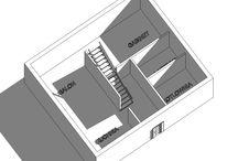 26.02.2014- PODSUMOWANIE SPOTKANIA / NOTATKI: - nie ograniczamy się układem funkcjonalnym Ekotypowego 2 - możliwość połączenia salonu z gabinetem stosując lekkie przegrody np. meble, schody itp. - schody w strefie mniej intymnej - okno w łazience- ważny element DO ZROBIENIA: - wspólny wyjazd do kamieniarza