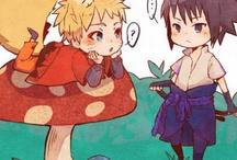 Саске и Наруто