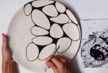 Keramik handbemalt