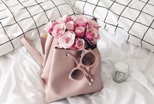Pretty Handbags / A collection of pretty handbags in the most gorgeous hues.