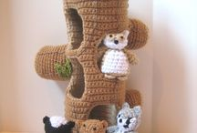 Virkat / crochet