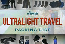 Travel Packing Tips / Tips, tricks, and ideas for packing light for travel.