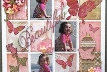 Girl page layout