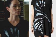 Joan Watsons wardrobe