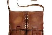 Romantic Italian Design leather goods. / Italian leather vintage designs.