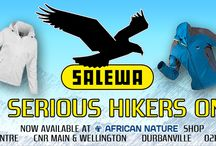Salewa / Clothing for the serious hiker... made to last, move, keep body temperatures equalised and dry. Made to impress the serious hiker!