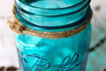 My Blue Ball Jars! / by Susie