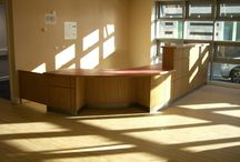 Reception Desks / Reception Desks we have supplied to companies and schools etc.
