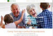 Grandparents video calls / Cute new website for grandparents: http://www.grandparentsvideocalls.com/