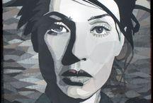 portret quilt