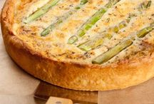 Savory Pies, tarts and quiche