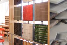 Showroom / Inspiration for our new awesome showroom - Mercury Mosaics