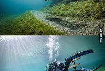 Diving and underwater magic