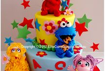 Sesame St Cakes / by Jay Churches