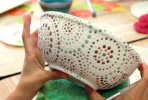 painted pottery ideas
