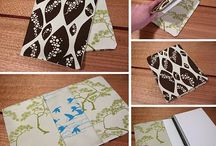 Sewing - covers - book, phone, laptop, etc.
