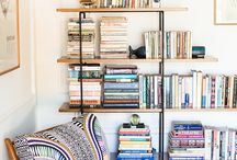 We love reading! / Interiors with corner reading area