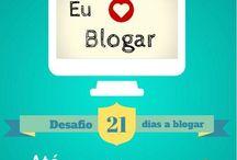 21 dias a Blogar / Compromisso 21 dias a blogar