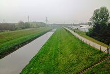 Mit dem Rad unterwegs / Mit meinen Fahrräder unterwegs am Niederrhein und Ruhrgebiet