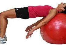 oefeningen met fysio bal