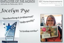 Employee of the month 2013