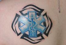 Fire-Med tattoos