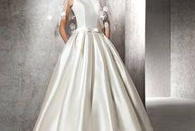 San Patrick Pronovias / Exquisite bridal gowns in sumptuous laces, chiffon and satins