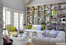 Bookshelf, Bookcase, Shelving Decorating Ideas / Bookshelf, Bookcase, any type of shelving decorating ideas.