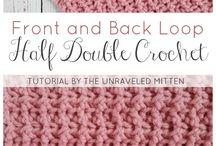The Unraveled Mitten Crochet Stitch Tutorials / Crochet Stitch Tutorials found on The Unraveled Mitten