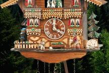 Cuckoo Clocks / Hand carved Black Forest cuckoo clocks. Traditional cuckoo clocks and Chalet cuckoo clocks.