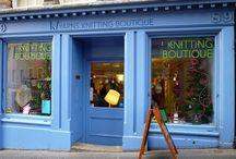 Knitting in Edinburgh