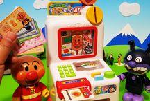 アンパンマン銀行ATM❤アニメ&おもちゃ