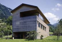 Architecture:  Modern Alpine/Mountain