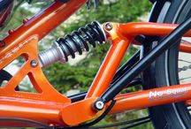 Suspension / Bicycle, tricycle and quadracycle suspension etc