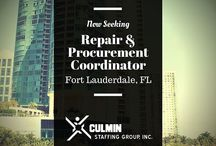 Job Opportunities / Current Job Opportunities from Culmin Staffing!