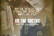 WHOLOCK / Doctor who and Sherlock holmes