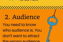 Online Marketing Infographics / A collection of infographics with tips and recommendations about online marketing, social media, search engine optimization and website design
