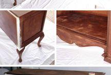 Restaurer des meubles DIY