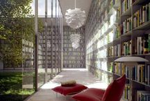 Bookshelves and Reading Rooms / by Jaclyn