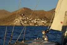 Islas Sarónicas en velero. Grecia
