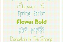 Fonts / by Leigha Baer