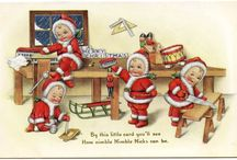 A Very Vintage Holiday! / Vintage ads, cards, toys & other historic holiday cheer!