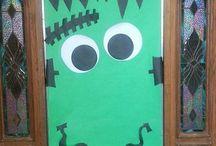 Portes halloween